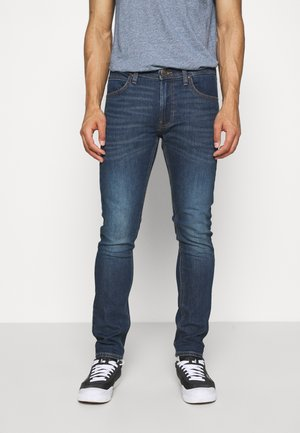 LUKE - Slim fit jeans - dark blue denim