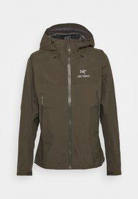 BETA HYBRID JACKET MENS - Hardshell jacket - dracaena