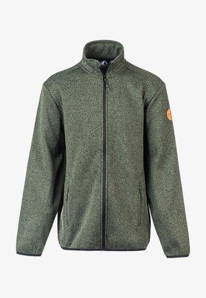 SAMPTON - Fleece jacket - green