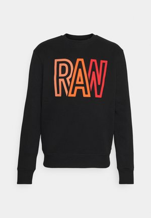 RAW R SW L\S - Sweatshirt - black
