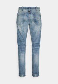 G-Star - 5620 3D ZIP KNEE SKINNY - Jeans Skinny Fit - vintage cool aqua destroyed - 6