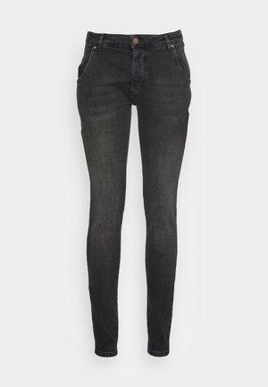 SLIM FIT - Slim fit -farkut - washed black