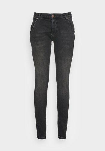 SLIM FIT - Slim fit jeans - washed black