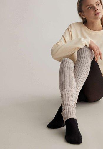 Leg sleeves - beige