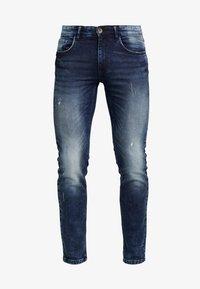 Redefined Rebel - STOCKHOLM TERRY - Slim fit jeans - dark sea - 4
