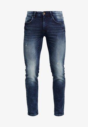 STOCKHOLM TERRY - Slim fit jeans - dark sea