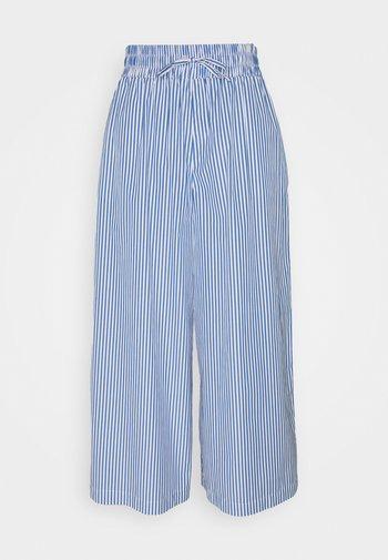 LINFA - Trousers - azurblau