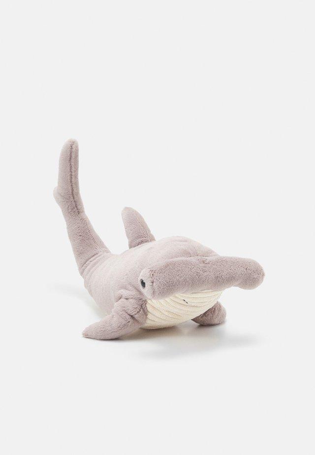 HARLEY HAMMERHEAD SHARK UNISEX - Knuffel - grey
