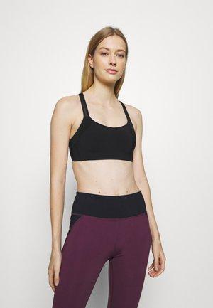 ADIA BRASSIERE - Light support sports bra - noir