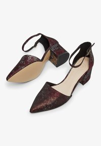Bianco Wide Fit - WIDE FIT BIADIVIDED - Pumps - wine red - 3