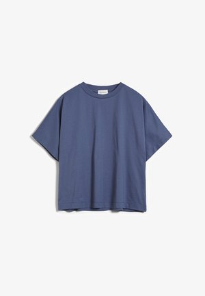 KAJAA - Basic T-shirt - foggy blue
