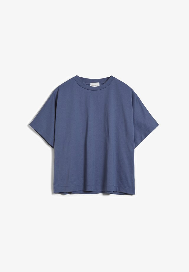KAJAA - T-shirt basic - foggy blue