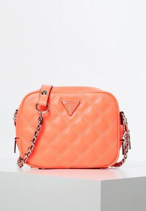 MINI CAMERA BAG CESSILY STEPPOPTIK - Across body bag - orange