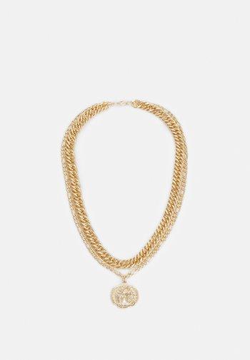 LION MULTIROW UNISEX - Necklace - gold-coloured