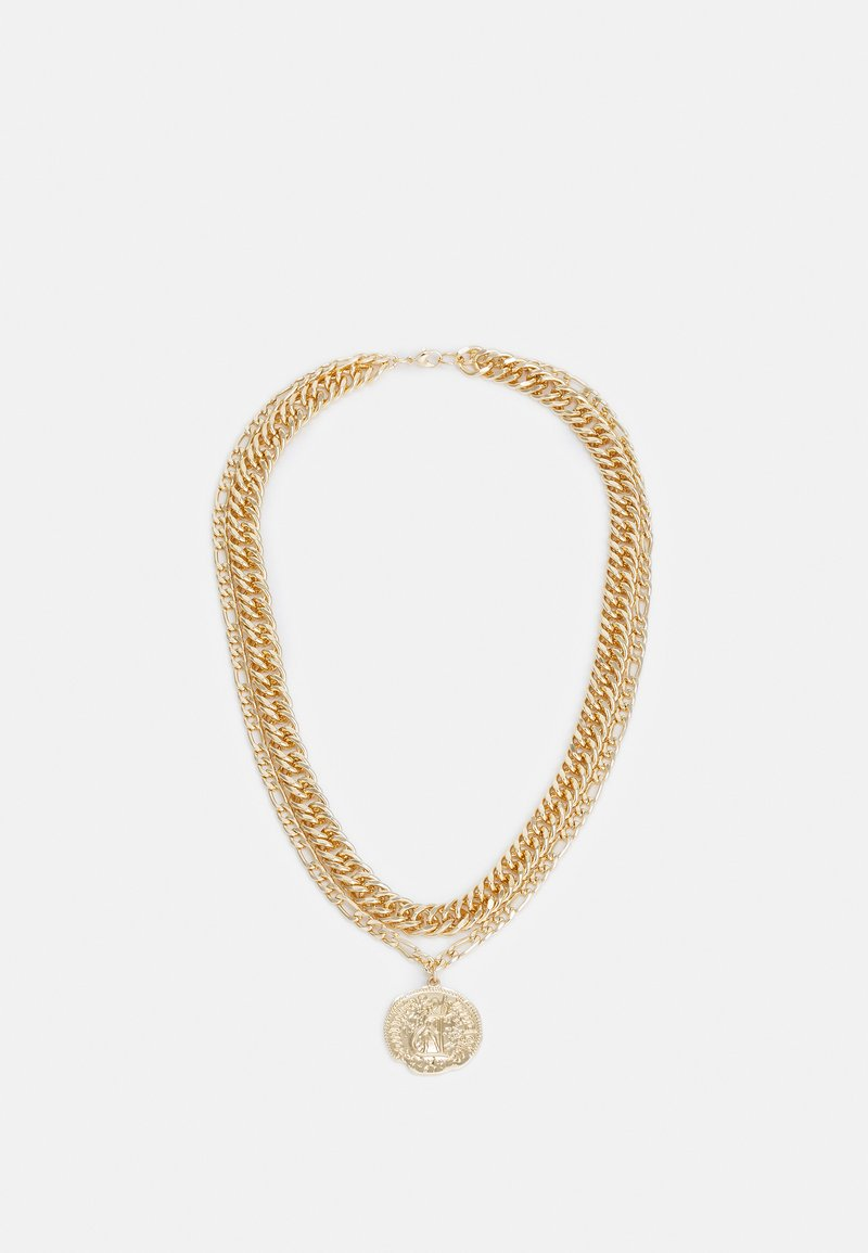Uncommon Souls - LION MULTIROW UNISEX - Ketting - gold-coloured