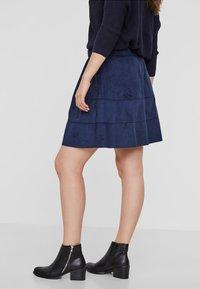 Noisy May - NMLAUREN  - A-line skirt - dark blue - 2
