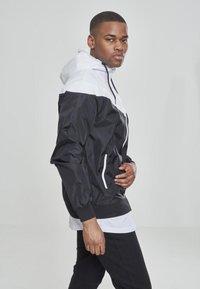 Urban Classics - Summer jacket - blk/wht - 2