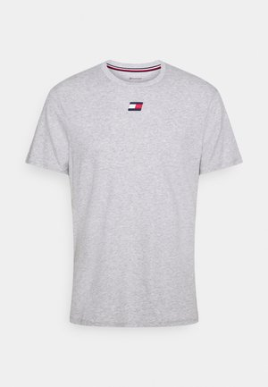LOGO TEE - Sports shirt - grey
