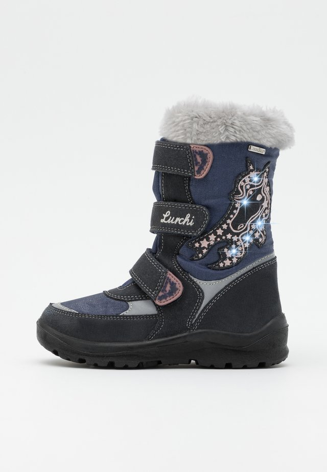 KATINKA SYMPATEX - Winter boots - atlantic blue