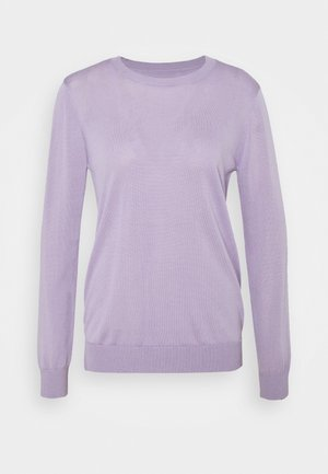 MYRTHE BASIC CREW VEGAN - Jumper - pastel lilac