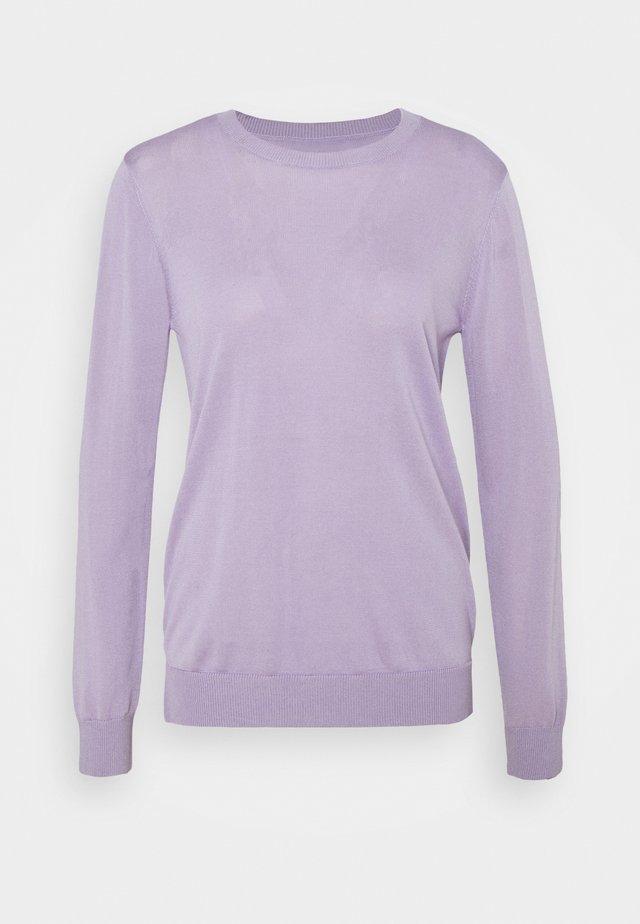 MYRTHE BASIC CREW VEGAN - Neule - pastel lilac