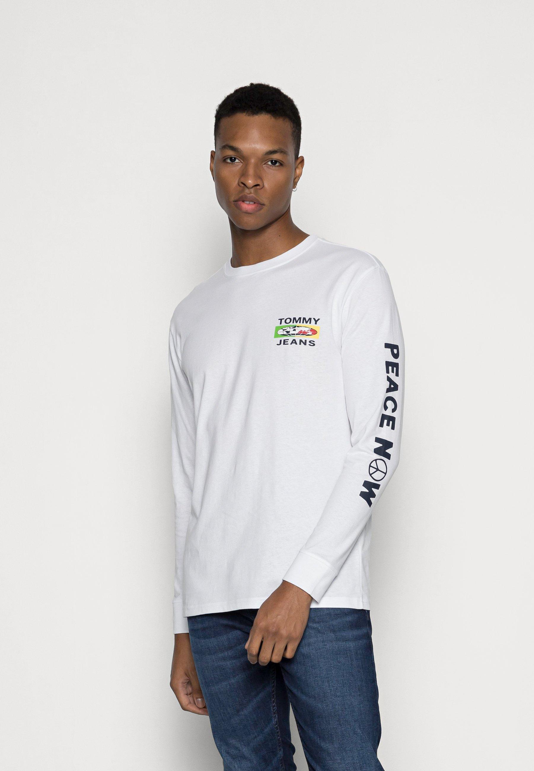 Men MONO POSITIVITY TEE - Long sleeved top