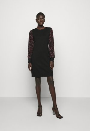 Shift dress - black/black/rudolph red/powder pink/multi