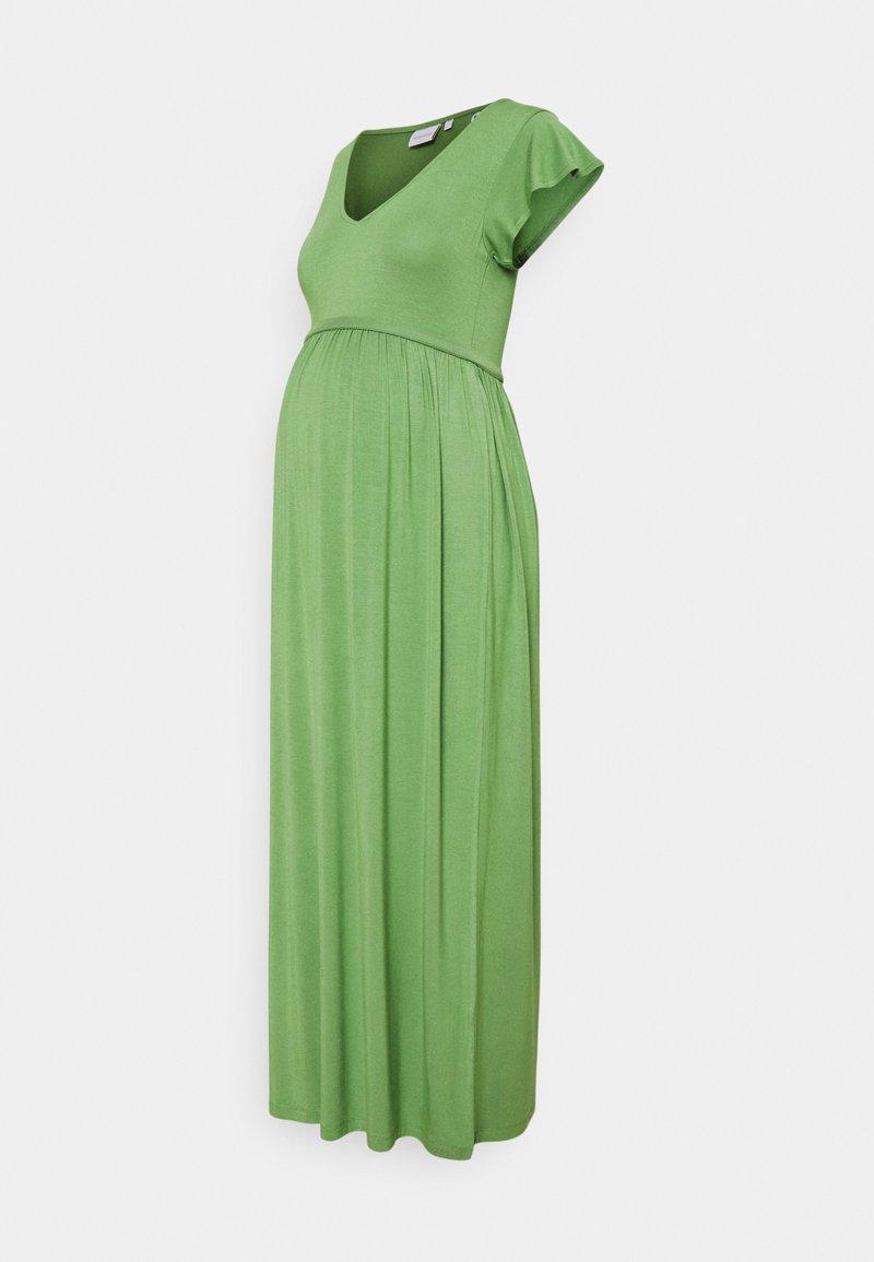 MAMALICIOUS - MLKAYLY DRESS MAXI  - Maxikjole - turf green