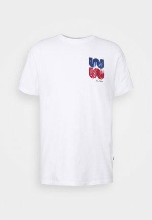 SAMI  - Print T-shirt - bright white