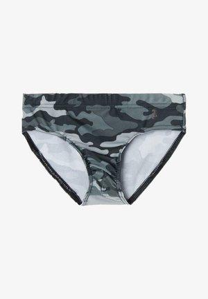 Briefs - camouflage shark grey