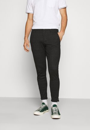 PISA CHECK - Chinos - black