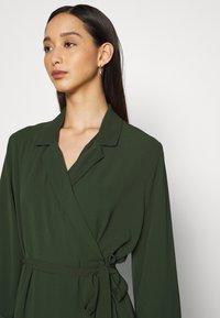 Monki - ANDIE DRESS - Day dress - dark green - 3