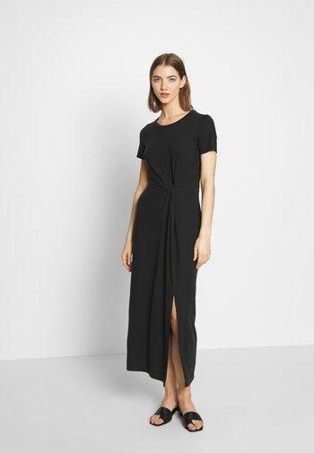 VMAVA LULU ANCLE DRESS - Maxi šaty - black