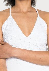 Desigual - MONICA - Vapaa-ajan mekko - white - 4