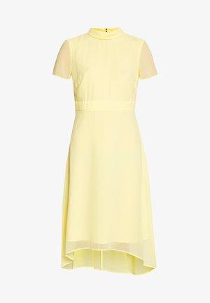 Cocktailkjoler / festkjoler - lime yellow