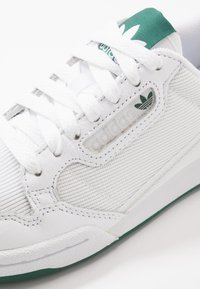 adidas Originals - CONTINENTAL 80 - Trainers - footwear white/grey one/collegiate green - 5