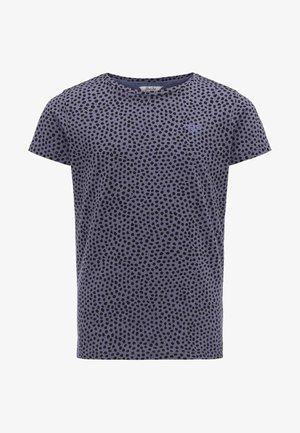Print T-shirt - faded lilac