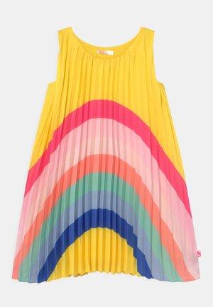Koktejlové šaty/ šaty na párty - lemon