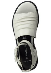 Marco Tozzi - Ankle cuff sandals - white/black - 1