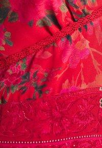 Hope & Ivy Tall - FLUTED SLEEVE OPEN BACK MAXI - Maxi dress - orange - 2