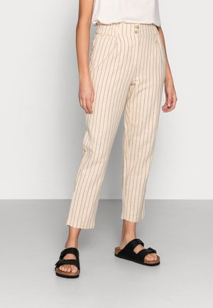 RUPA ANKLE PANTS - Bukse - wood ash