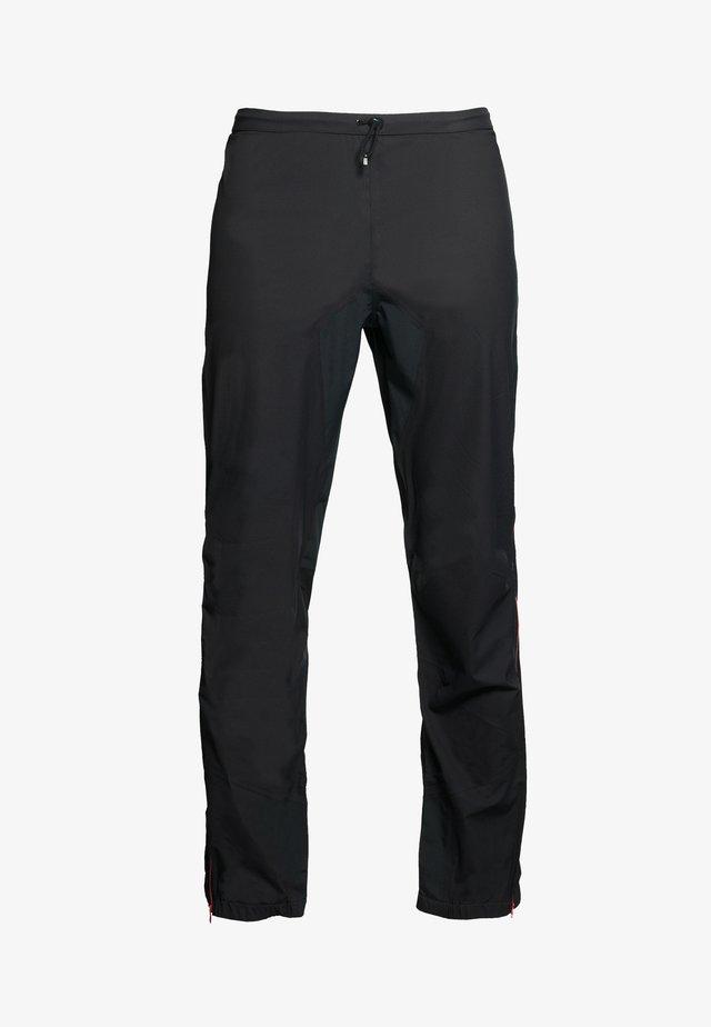 HORIZON - Trousers - black pink