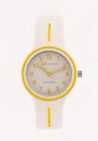 Superga - Watch - bianco/giallo - 1