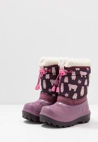 Viking - SNOWFALL BEAR - Winter boots - violet/pink - 3