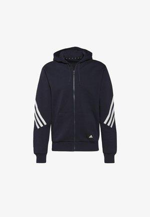 FUTURE ICONS - Zip-up sweatshirt - blue