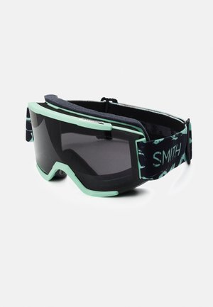 SQUAD - Masque de ski - sun black/yellow
