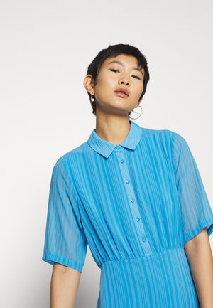 ANCELIN DRESS  - Shirt dress - azure blue