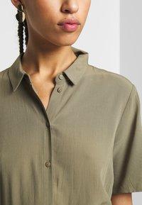 Pieces - PCCECILIE  - Shirt dress - deep lichen green - 5