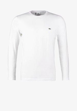 Långärmad tröja - weiß
