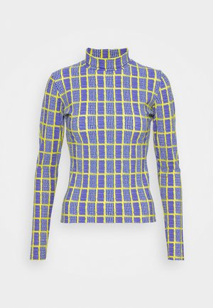 POLLEN - Long sleeved top - blue
